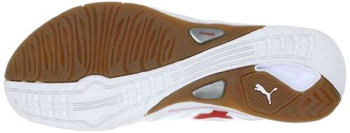 Puma Vellum II 102064 Herren Sportschuhe - Indoor Weiss (white-puma royal-high risk 10)
