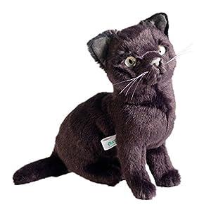 Gato de Peluche de Raza Azul Ruso, de 30 cm, de Marca Piutrè