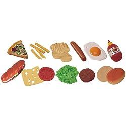 Miniland 30585 - Fast-Food 19 Teile/Tüte