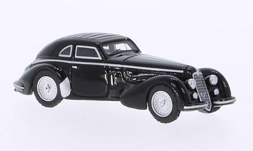 Preisvergleich Produktbild Alfa Romeo 8C 2900 B, schwarz, RHD, 1938, Modellauto, Fertigmodell, BoS-Models 1:87