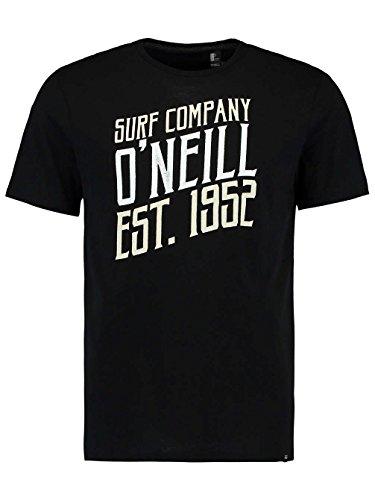 O'Neill Herren Signage T-Shirt, Schwarz, Einheitsgröße black out