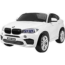 Coche Electrico para Niños Auto Alimentado con Batería Vehículo Eléctrico Control Remoto - BMW X6M 2