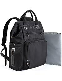 Baby Diaper Bags Backpack-Smart Organizer Large Capacity Multifunction,Stylish For Women And Men,Bonus Travel...