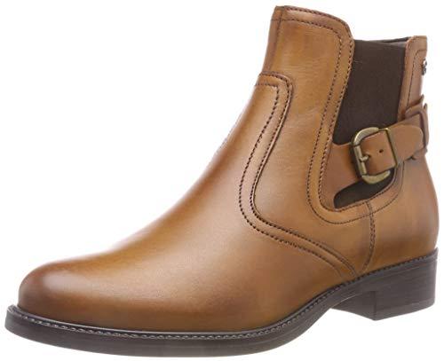 Tamaris Damen 25002-21 Chelsea Boots, Braun (Nut 440), 39 EU
