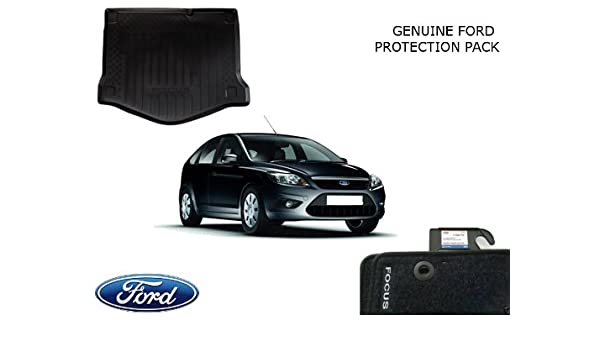 Genuine Ford Protection Kit Focus Mk2 Hatch 3 5 Dr 05 11 Boot Liner Set Mats Amazon Co Uk Car Motorbike