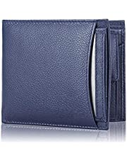 Blissburry Touch Men's Leather Wallet Colour Blue