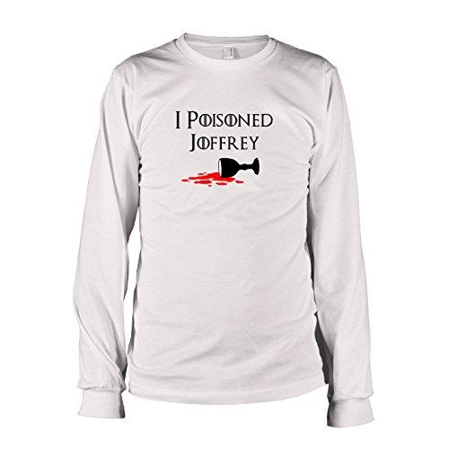 Joffrey Kostüm Baratheon (TEXLAB - GoT: I poisoned Joffrey - Langarm T-Shirt, Herren, Größe XXL,)
