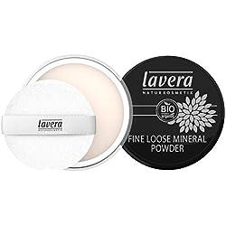 Lavera, Cipria minerale in polvere, Transparent, 8 g
