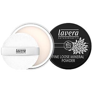 maquillaje en polvo mineral lavera