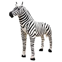 Museourstyty Plush Toys Soft Stuffed Zebra Plush Animal Pillow for Children