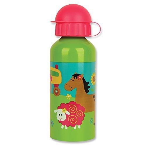 Stephen Joseph Girl Farm Stainless Steel Water Bottle, Multicolor by Stephen Joseph