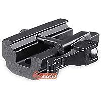 zeadio rápido Separa, Adaptador Montaje del bípode para 20mm Picatinny/Weaver Carril, ZBP-KCA