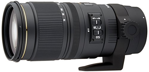 Sigma 70-200 mm f/2.8 EX DG OS HSM-Objektiv für Canon Objektivbajonett