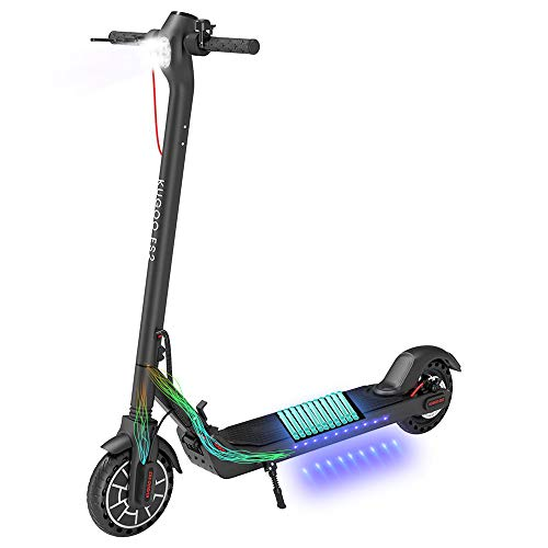 Kirin Elektroroller, ES2 Klappbar E-Scooter 25KM/H ElektroRoller 8,5 Zoll Reifen, LED-Display, App-Steuerung,350W (Schwarz)