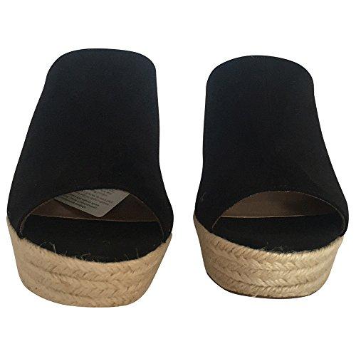 Pantolette Damen von Tamaris in Schwarz Schwarz