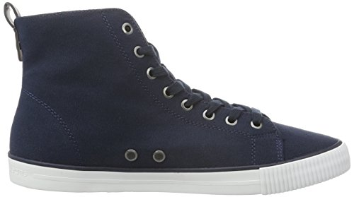 Calvin Klein Jeans Dolores Canvas, Baskets Basses Femme Bleu (Navy)