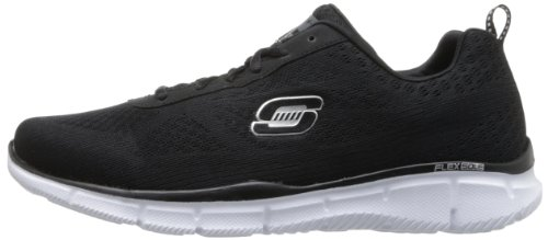 Skechers  EqualizerQuick Reaction, Sneakers basses homme Noir (black/white Bkw)