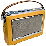 GOODMANS Vintage Style Digital Radio with Bluetooth - Mustard