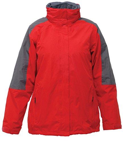 Regatta Defender 3 III femmes-en - 1 Veste de travail Rouge - Red / Seal Grey