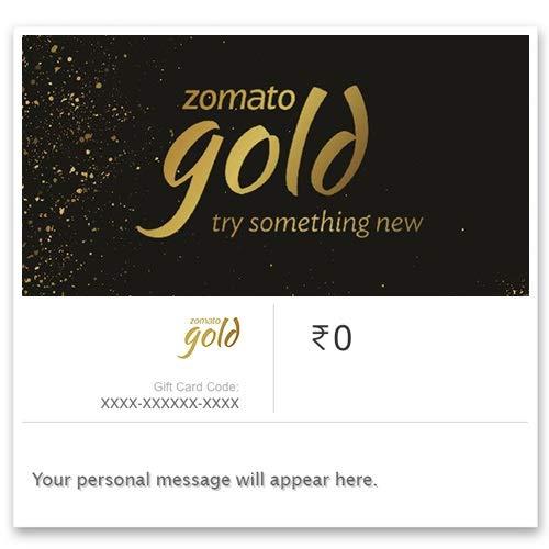 Zomato Gold - Invite Code: Amazon in: Gift Cards