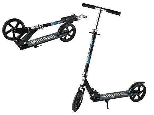 Iso Trade City Roller Big Wheel Tretroller Ständer Erwachsene bis 110kg ab 5 Jahren 4 Höhen