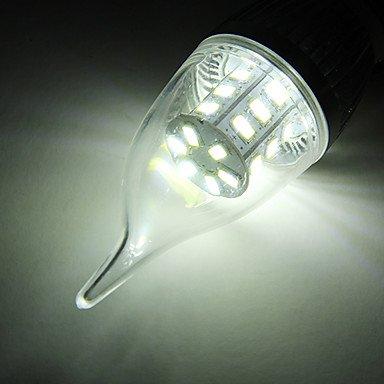 FDH 5W E26/E27 Luces de velas LED SMD CA35 24 5730 350 lm / blanco cálido, blanco frío,220-240 V CA Cool White