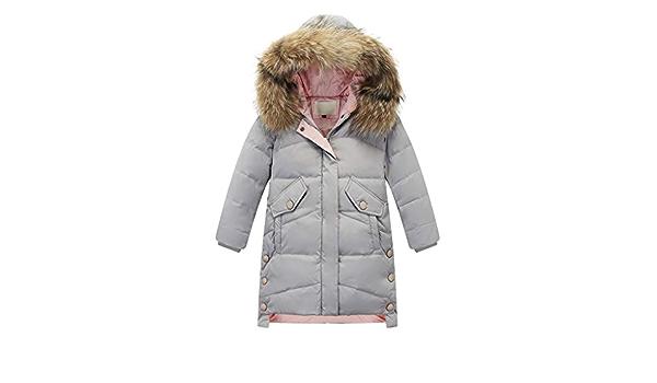 NINGSANJIN Baby-Kapuzen Mantel Mode Kinder Mantel Baby M/ädchen Dicke Mantel Daunenjacke Gepolsterte Dot Bowknot Winter Jacke Kleidung