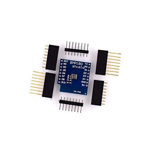 QingTanger Módulo Sensor de Temperatura Presión BMP180 Bosch para D1 Mini WiFi Aprender Junta