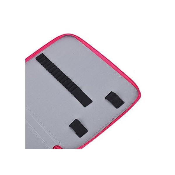 Porta-lápiz soporte de pluma caja de cremallera