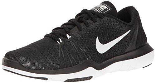 Nike Damen WMNS Flex Supreme Tr 5 Trainer, Mehrfarbig (Black/White/Pure Platinum), 38 EU