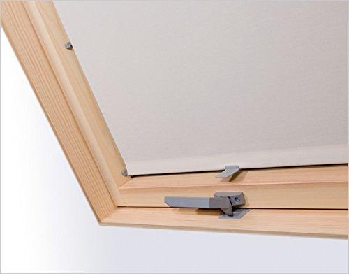 Innenrollo RAR MXA beige 60 cm breit für Dachfenster Größe M4A 78 cm x 98 cm, M6A 78 x 118 cm und M8A 78 x 140 cm