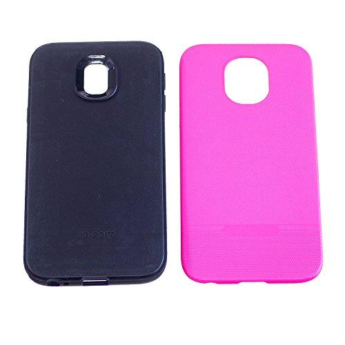 BONROY Handy hülle für iPhone 8 Plus/7 Plus (5,5 Zoll) ,2 in 1 Hybrid-Silikon-TPU Hartplastik Back...