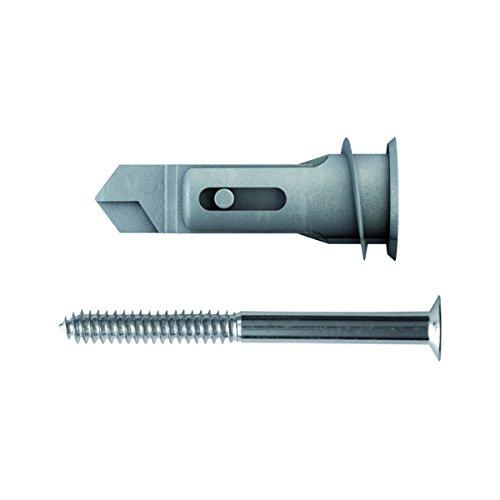 TOX Gipskartondübel Spiral Pro 39 mm mit Schraube, 25 Stück Dübel und 25 Schrauben, 068101051 (Spiral-anker)