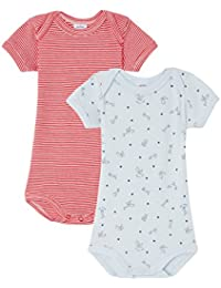 Petit Bateau Baby-Jungen Body Mc_23187, 2er Pack