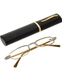 Metall Gestell Lesebrille Lesehilfe in verschiedenen Sehstärken Brille von +1.0 bis +4.0 von Oramics