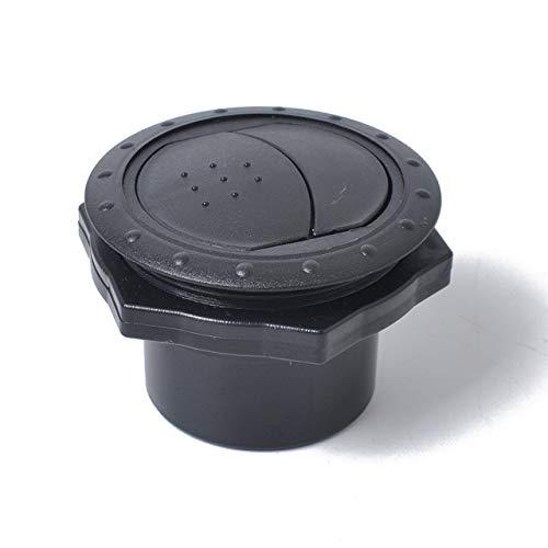 jasnyfall Universal Runde A/C Luftauslass Vent Für RV Bus Boot Yacht Klimaanlage Vent Zubehör Reparatur Kit Teil (schwarz)