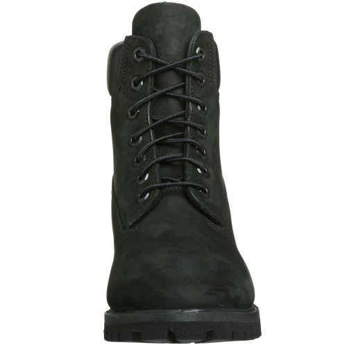 Timberland Men   s 6IN BLACK Boots Black Size  11 5 UK