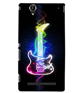 SONY XPERIA T2 ULTRA GUITAR Back Cover by PRINTSWAG