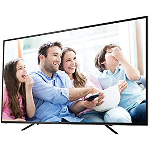 65 'pollici (165 cm) di UHD 4 K LED TV DVB-S2, DVB-T2, DVB-C Denver 6569t2cs