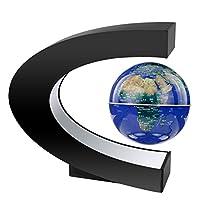 """definizione: per colore: blu diametro: 85mm globo c forma materiale di base: abs forma base: nero e colore c forma base dimensioni: 7,9 """"x7.9"""" potenza 12v adattatore 110v a 240v comprendevano: come usare: 1.per favore, la levitazione disposit..."""