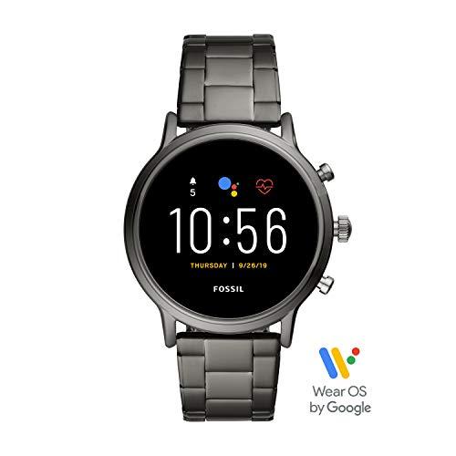 Fossil Herren Digital Touchscreen Gen.5 Smart Watch mit Stainless Steel Armband, FTW4024
