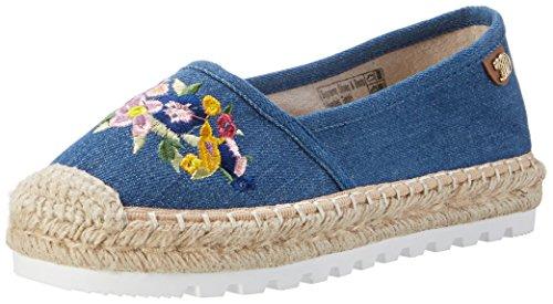 Tom Tailor Damen 2796910 Espadrilles, Blau (Jeans), 40 EU