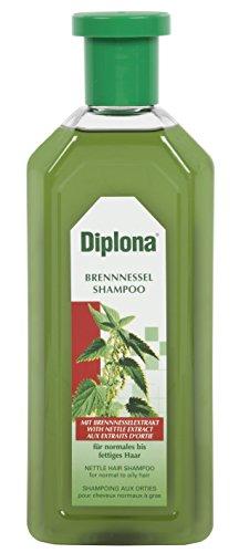 DIPLONA Brennessel Shampoo mit ausgewählten, hochwertigen Inhaltstoffen reinigt mild und pflegt Kopfhaut und Haar. Für normales bis fettiges Haar.  6er Pack (6 x 500 ml)