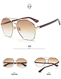 3aec27e61c Shopystore C2  2017 Brand r Fashion Ocean Sunglasses Women Yellow Pink  Metal Frame Sunglasse