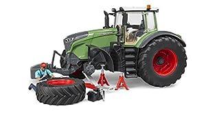 BRUDER 04041 Acrilonitrilo butadieno estireno (ABS), De plástico vehículo de juguete - vehículos de juguete (Acrilonitrilo butadieno estireno (ABS), De plástico, Verde, 4 año(s), 1:16, 456 mm, 198 mm)