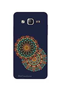 MiiCreations 3D Printed Back Cover for Samsung Galaxy On5,Colourful Pattern
