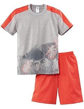 Calida Jungen Zweiteiliger Schlafanzug Sunny Beach Boy Pyjama Kurz