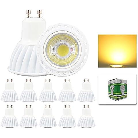 Mengjay® 10 lampadine LED COB GU10, 5
