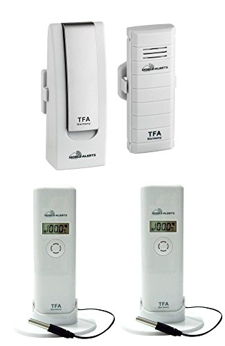 Heizung Temperatur-kontrolle (Weatherhub Solar Heizung Temperatur Überwachungsset TFA 31.4001.02.10 Temperaturkontrollgerät)