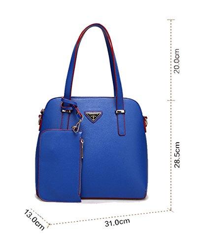 Wewod, Borsa a mano donna 31*13*28.5 cm (L*W*H) Blau